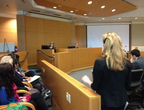 CLIENT AS A WITNESS: COURTROOM LESSON #3